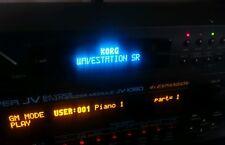 Korg Wavestation SR Oled Display !