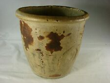Antique Early American Earthenware Pot Handmade with History