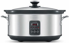 Breville BSC420BSS The Smart Temp 6l Slow Cooker