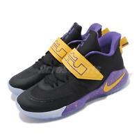 Nike Ambassador XII 12 LeBron James Lakers Black Men Basketball Shoes BQ5436-003