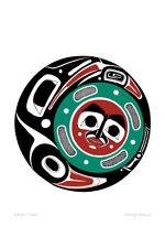 Raven Moon Danny Dennis Art Card Tsimshian Northwest Coast Native