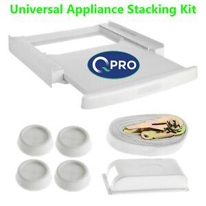 Universal Washing Machine, Tumble Dryer Appliance Stacking Kit & Shelf 60 x 60cm