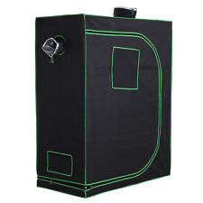 Hydroponic Plant Grow Tent Indoor Reflective Mylar Obeservation Window Floor