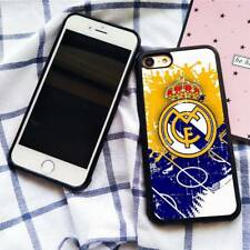 Real Madrid Football Club FC TPU Silicone Case Cover for iPhone 5 6 7 8 X Plus