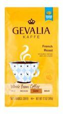 3 PACK Gevalia Kaffe French Roast Whole Bean Coffee Dark 100 % Arabica