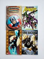 Avengers Kang Captain America Iron Man War Machine TPB Lot of 4 Marvel 1st Print