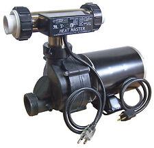 Whirlpool Bathtub Jet Pump 3/4hp & Heat Master Tee Heater System Combo