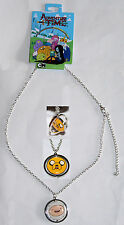 Adventure Time With Finn Boy And Jake Dog Spinning Pendant Necklace Jewelry 2 N1