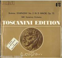 Toscanini Edition 42: Brahms; Symphony (Symphony) N.2 - LP