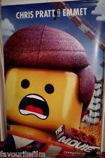 Cinema Banner: LEGO MOVIE, THE 2014 (Emmett) Chris Pratt Elizabeth Banks