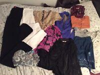 womans clothing size 10-12 bundle 1