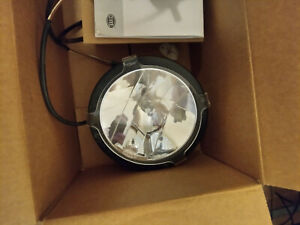 Hella Raylle 4000 Series Driving lights with clear lens covers