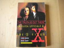 Guida ufficiale a The X-FilesCarter, LowryBompiani1996Libro Book livre buch
