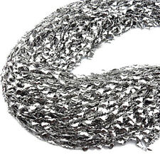 1Meter Wholesale Lots Stainless Steel Silver Mini Heart Rolo Chain Necklace