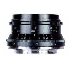 7artisans Photoelectric 35mm f/1.2 Lens for Fujifilm X Mount (Black)