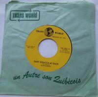 *SLIM HARPO Baby scratch my back NM- CANADA ORIG 1965 RARE SOUL BLUES R&B 45