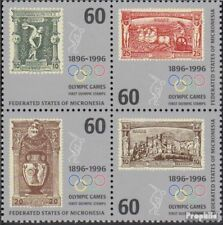 Mikronesien 494-497 block of four (complete.issue.) unmounted mint / never hinge