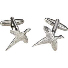 Pheasant Cufflinks - Shooting Gifts