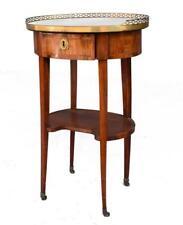 Table de chevet rognon Louis XVI estampillée J.B Vassous (1739-1807)