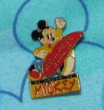 Disney Pin LE JOURNAL DE MICKEY VINTAGE Reseau Presse 12 Avril 92