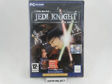 STAR WARS JEDI KNIGHT DARK FORCES II & MYSTERIES OF THE SITH PC ITALIANO NUOVO