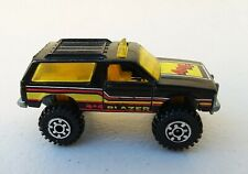 Hot Wheels 1983 Chevy Blazer 4x4 Black