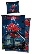 Spiderman Biber Wende Bettwäsche 135x200cm Spider Man Kinderbettwäsche 2 tlg.