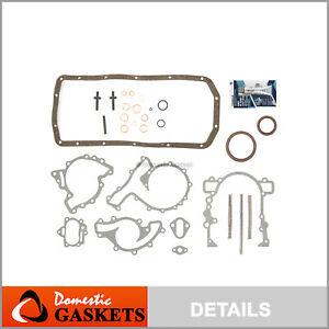 Fit 94-04 Land Rover Range Rover Discovery Defender 3.9L 4.6L Lower Gasket Set
