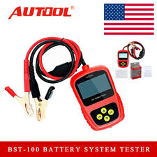 12V Auto Battery System Tester Lead Alternator Acid Diagnostic Tool BST-100 USA