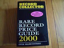 RECORD COLLECTER RARE RECORD PRICE GUIDE 2000