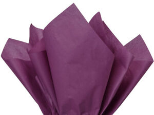 """THANKSGIVING FALL Color Gift Grade Tissue Paper 15 x 20"""" Choose Color & Amount"""