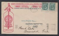 Canada 1910 GURD'S GINGER ALE KEVII Advertising Cover Montreal
