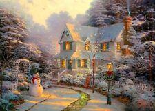 Thomas Kinkade Painter of Light Nuit Avant Noël 1000 Pieces Jigsaw Puzzle