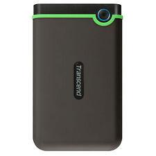 500GB Transcend StoreJet 25M3 USB3.1 Slim Portable Hard Drive Shock-Resistant
