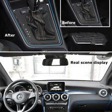 Durable 5m/16.4ft Car Doors Dash Gap Filter Strips Trim For Audi BMW BENZ VW 1pc