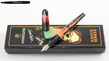 Waterman Kultur Fountain Pen Lara Croft / Tomb Raider Orange F-nib - OVP