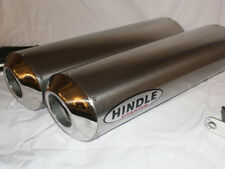 Hindle 16x2 Oval Undertail Titanium Stealth Muffler Set - TGPS162OVUY