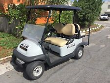 2017 grey Club Car Precedent 4 seat passenger 48v 48 volt Golf Cart lights