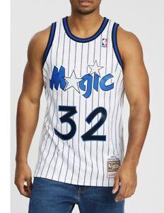 Shaquille O'Neal 32 Orlando Magic Mitchell & Ness NBA Swingman Jersey Small NEW
