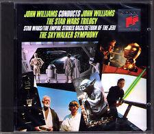 STAR WAR TRILOGY John WILLIAMS conduct Empire Strikes Back Return of the Judi CD