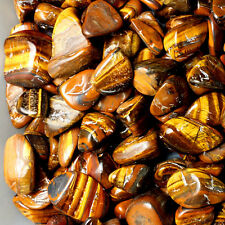 50g Natural Tiger Eye Stone Gravel Crystal Mineral Specimen Healing Rock Decor