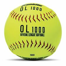 """Franklin Sports Official Size Softballs - 12"""" Softballs - Fastpitch Practice"""