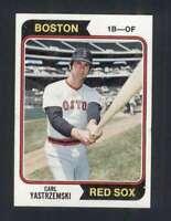 1974 Topps #280 Carl Yastrzemski NM/NM+ Red Sox 123513