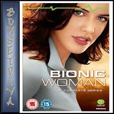 BIONIC WOMAN - COMPLETE SERIES *BRAND NEW DVD***