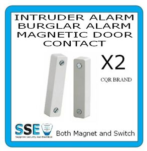 Alarm Door Contact - CQR SC517 - Professional Type - Magnetic Reed Switch - X 2
