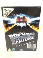 Back to the Future Trilogy 3 Disc DVD Slim Box Set - New & Sealed - Free P&P
