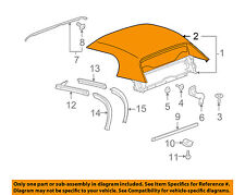 GM OEM Convertible/soft Top-Top Cover 19152957