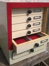 Wooden Microscope Slide Storage Cabinet for 500 Slides - Brand New