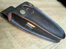 MK 3 Deben ferret finder/locator Brown real leather case with belt loop/ stud.