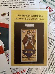 "2019 Heritage Auctions National - 1914 Boston Garter ""Shoeless"" Joe Jackson"
